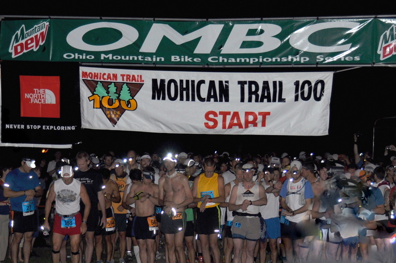 Mohican Trail 100 Start 2010